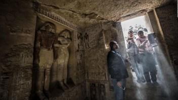 Hallan tumba de más de 4.400 años