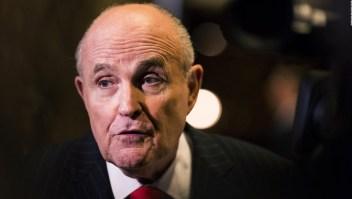 #FraseDirecta: Rudy Giuliani descarta entrevista entre el fiscal especial Mueller y Trump