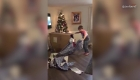 Este niño recibió una emotiva sorpresa navideña