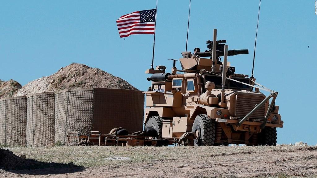 Estados Unidos retirará sus soldados de Siria