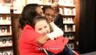 Estas niñas desbordaron de alegría al conocer a Michelle Obama