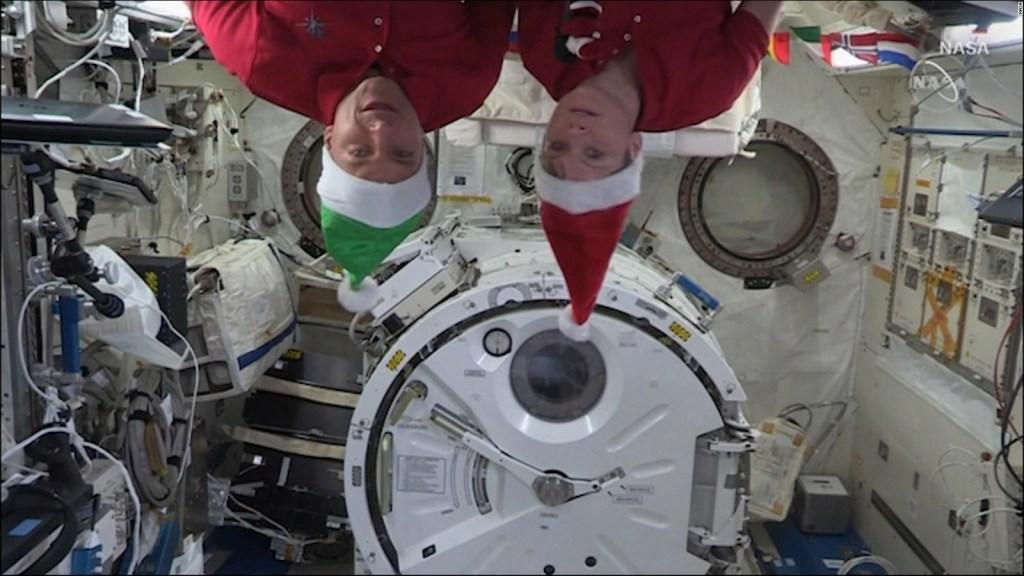 Así es la Navidad en el espacio