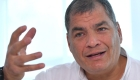 El expresidente Rafael Correa responde por qué se fue de Ecuador
