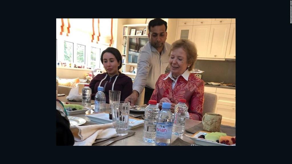 Publican fotos de la princesa de Dubai como prueba de vida