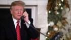 Trump le preguntó a un niño si todavía cree en Papá Noel