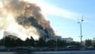 Ataque con metralletas a la cancillería de Libia