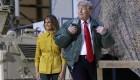 Donald Trump y Melania llegan a Iraq