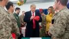 Trump asegura que aumentó el sueldo a los militares por primera vez en 10 añosD