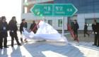 Las Coreas inauguran proyecto para reconectar vías férreas
