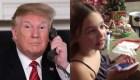 Esto dijo la niña a la que Trump preguntó si todavía creía en Santa Claus