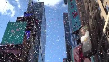 Calientan motores para el año nuevo en Times Square