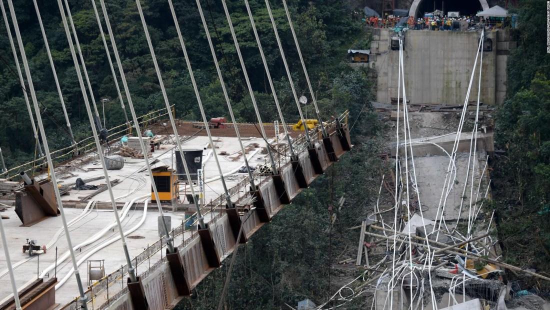 Estudio revela que por qué se derrumbó puente entre Bogotá y Villavicencio