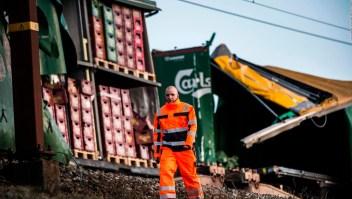 Fatal accidente de trenes en Dinamarca