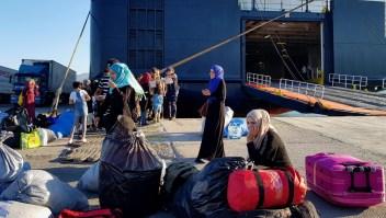 Cientos de miles de migrantes llegaron a Europa en 2018