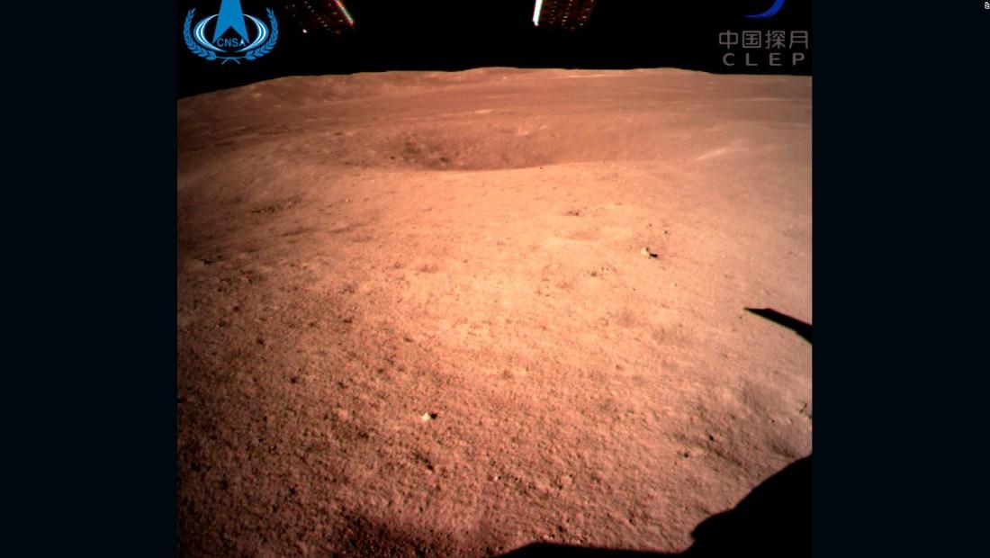 Esta es la primer foto del lado oculto de la Luna