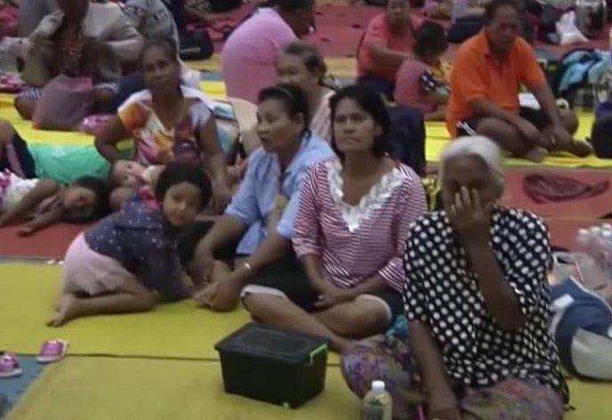 Alerta en Tailandia por poderosa tormenta tropical Pabuk