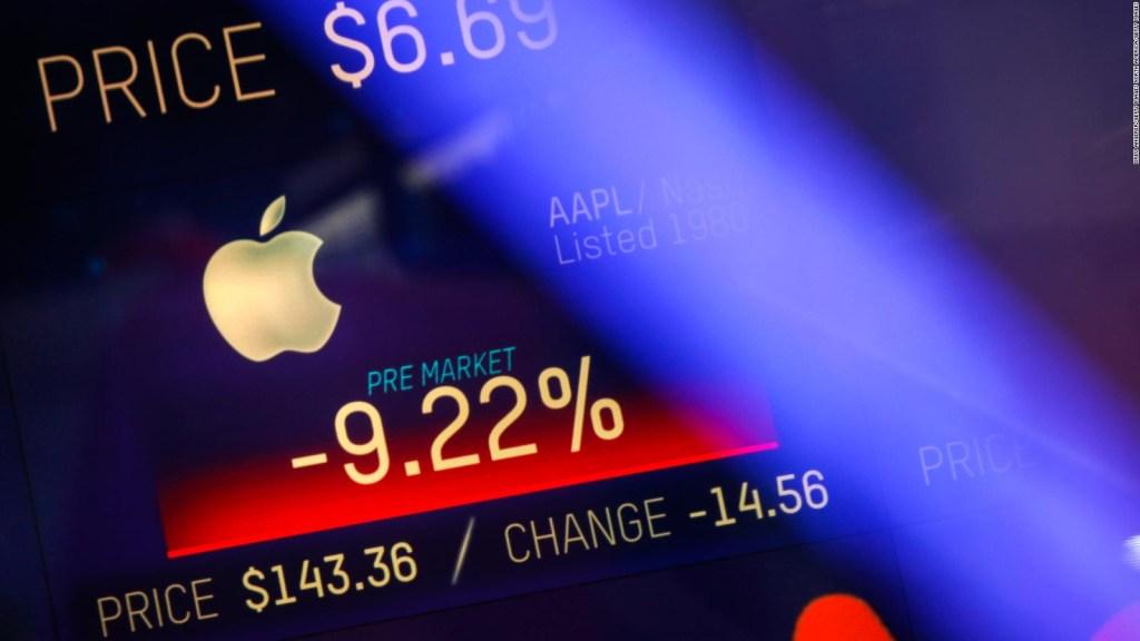 Apple cae más de 9%: ¿culpa de la guerra comercial o de la competencia?