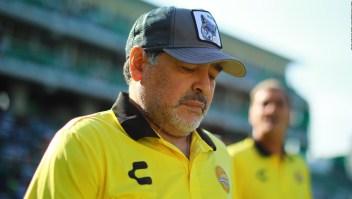 Maradona recibe el alta médica