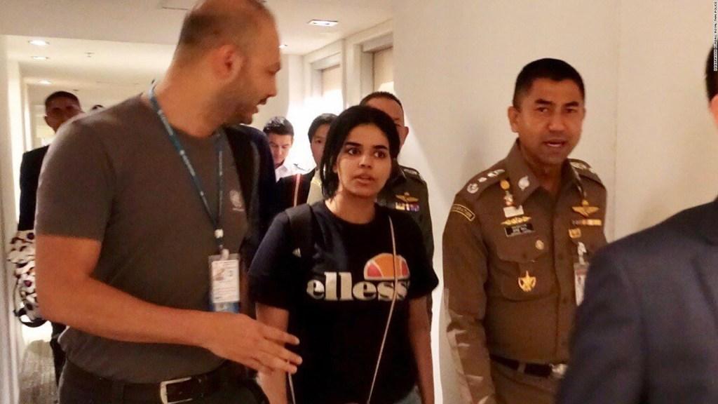 ACNUR ayudará a la joven saudita que huyó de su familia