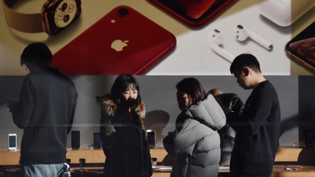 Apple, víctima de la guerra comercial entre EE.UU. y China