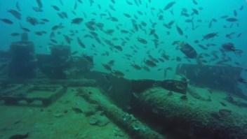 Turismo de barcos hundidos en México