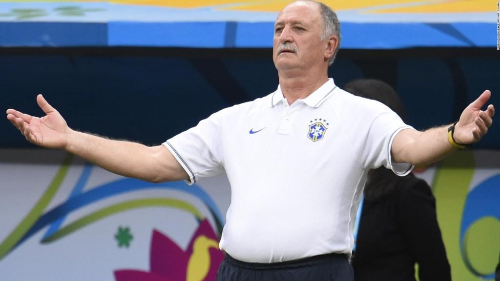 Scolari: Parece que Colombia no entendió que no me iba a ir