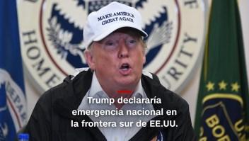 #MinutoCNN: Trump está cerca de declarar emergencia nacional