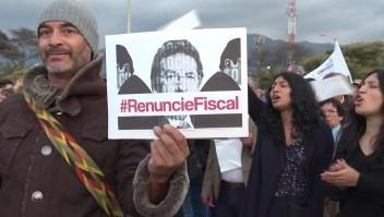 Protestas en Colombia piden la renuncia del fiscal general