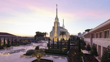 La iglesia mormona se instala en Roma