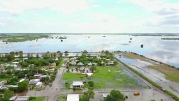 Intensas lluvias inundan varias provincias en Argentina