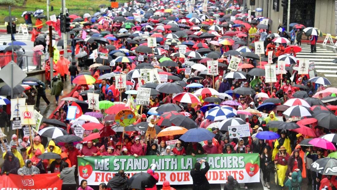 Este es el impacto de la huelga de profesores en Los Ángeles