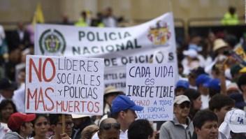 Colombia se vuelca a las calles en rechazo al terrorismo