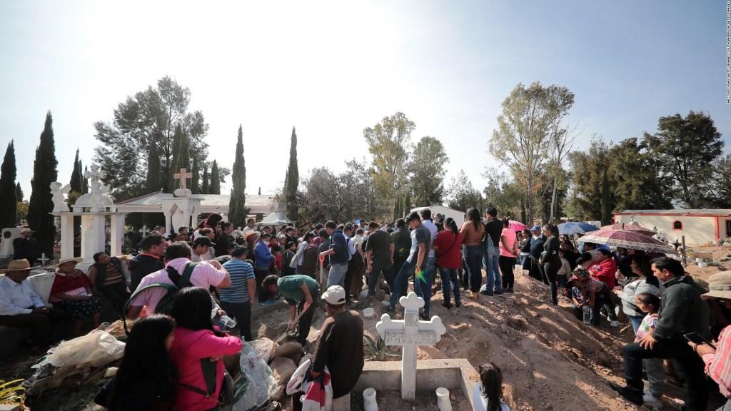 No hay espacio para enterrar a las víctimas de Hidalgo