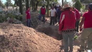 Número de muertos rebasa capacidad del panteón de Hidalgo