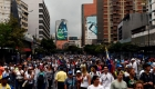 Inicia la manifestación de la oposición en Venezuela