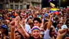 Venezolanos se manifiestan en las calles de Buenos Aires contra Maduro
