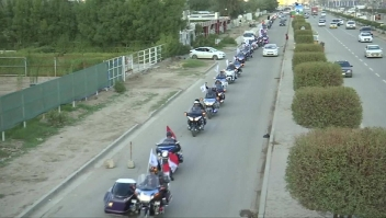 ¿Quiénes son estos motociclistas iraquíes?