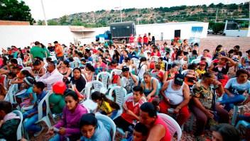 Incertidumbre de venezolanos en la frontera con Colombia