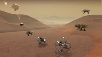 Dragonfly: el explorador de Titán