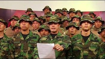 Desertores venezolanos le piden armas a EE.UU.