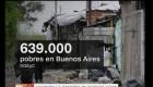 Argentina: ya hay un 20,9% de pobres en la ciudad de Buenos Aires