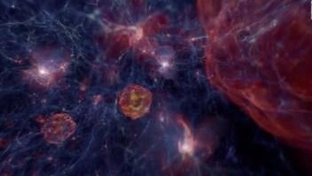 Formación de agujeros negros en el espacio