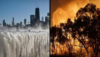Mira cómo el clima extremo afecta al mundo