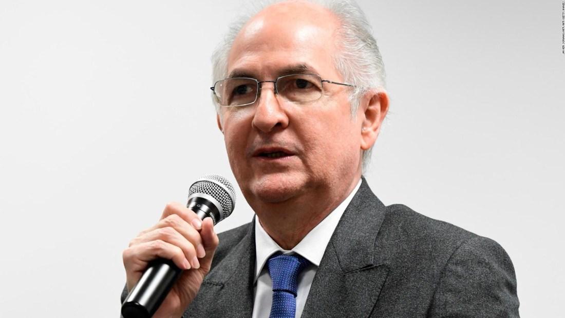 Antonio Ledezma: Posición de España sobre Venezuela es mejorable