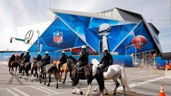 Autoridades garantizan la seguridad durante el Super Bowl