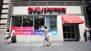 Baja en los números de CVS Health