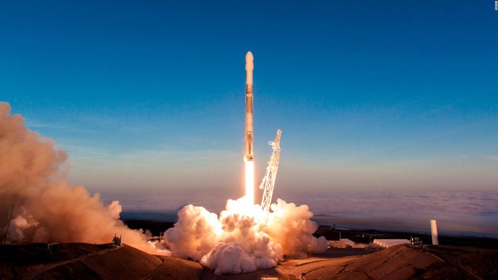 Space-Il rumbo a la Luna gracias a SpaceX