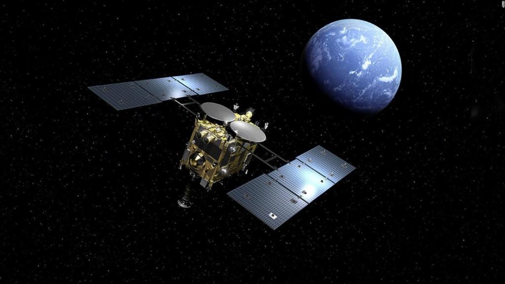 Nave japonesa inicia misión en asteroide Ryugu