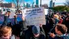 Amazon cae en la bolsa tras cancelar su nueva sede en Nueva York
