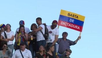 Venezolanos en Argentina piden elecciones libres en Venezuela